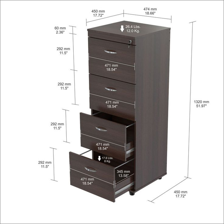 Best 25+ 4 drawer file cabinet ideas on Pinterest | Industrial ...