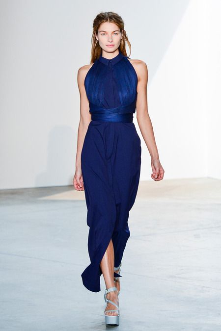 Vionnet | Spring 2014 Ready-to-Wear Collection | Style.com -- beautiful color
