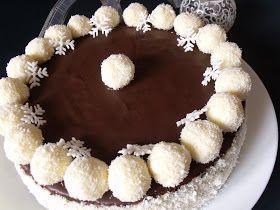 A közismert hólabda nevű sütemény torta változata. Hozzávalók 26 cm-es tortaformához A kakaós piskótához 9 tojás 21 dkg...