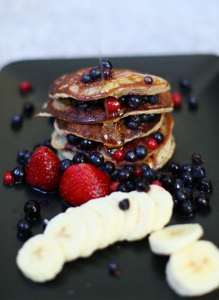 bananpannkakor havregryn nyttiga pannkakor dietist Annica Långvall matsmart