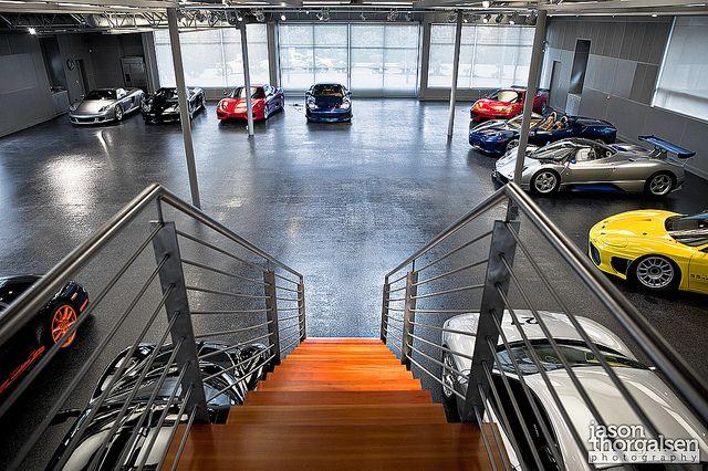 Supercar Garage By Jason Thorgalsen Photography Via Flickr