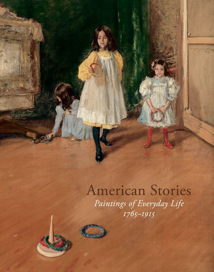 Weinberg, H. Barbara, and Carrie Rebora Barratt (2009). American Stories: Paintings of Everyday Life, 1765–1915 | Accompanying a major exhibition at The Metropolitan Museum of Art, American Stories: Paintings of Everyday Life, 1765–1915, presents nearly two hundred extraordinary pictures that tell stories of ordinary people engaged in commonplace tasks and pleasures. download or purchase this publication on Met Publications.