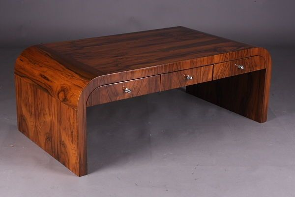 A-Yu-17 Classic Living room table im antique Art Deco Style