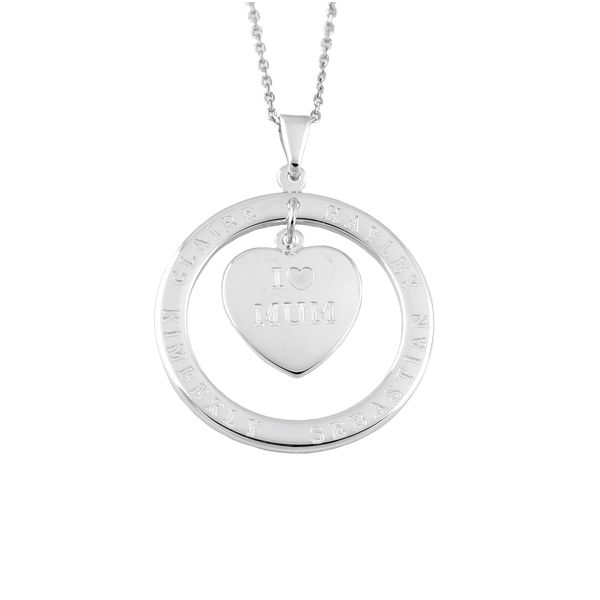 PERSONALISED FAMILY PENDANT