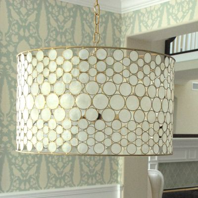 A Chandelier Mishap And How I Found My Dream Fixture Crafts Pinterest Drum Lighting
