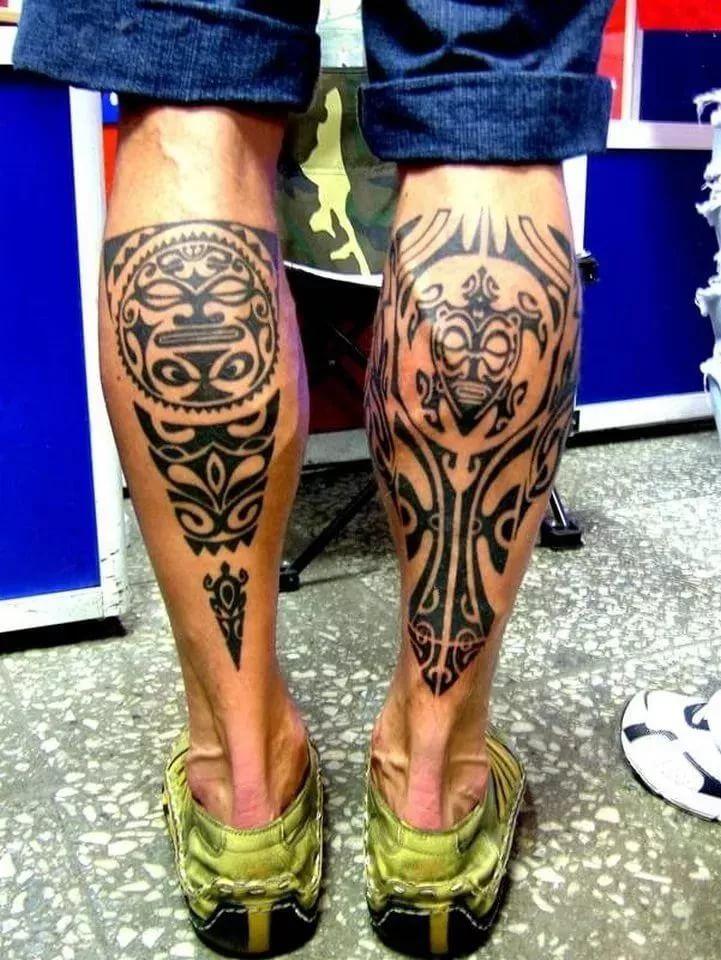 виды тату рисунки на мужских ногах фото того