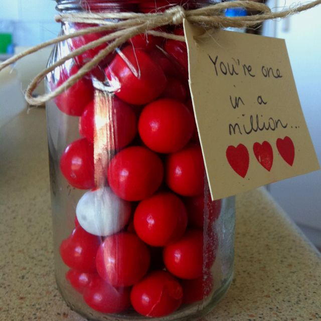This was my DIY Valentines Day present!