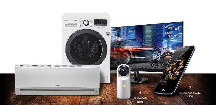 10 τυχεροί κερδίζουν Πλυντήριο-Στεγνωτήριο, Kλιματιστικό, Οθόνη UltraWide, κινητό και 360 CAM!