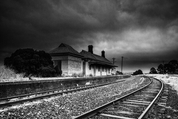 Today's feature image: Old Raglan Railway Station, near Bathurst, NSW, Australia. Purchase this image and many more as a high resolution digital print or web quality download from www.myactionimages.com.