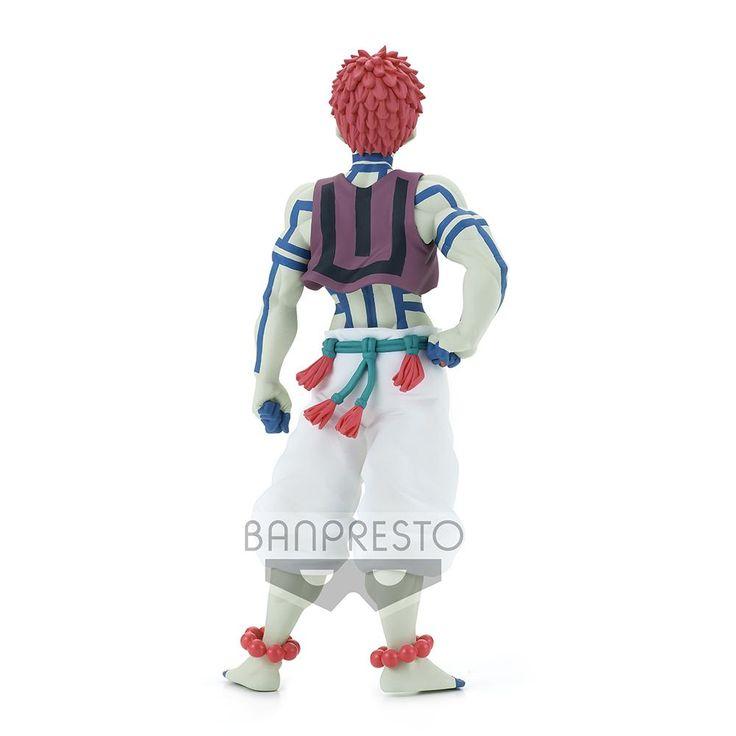 Demon Slayer Kimetsu No Yaiba Akaza Demon Series Ver B Banpresto In 2021 Banpresto Slayer Figures