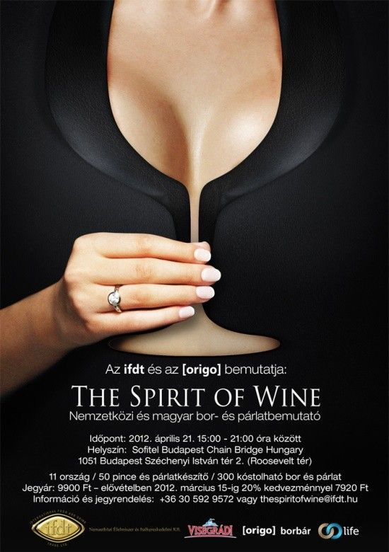 Wine & Spirit festival Advertisement