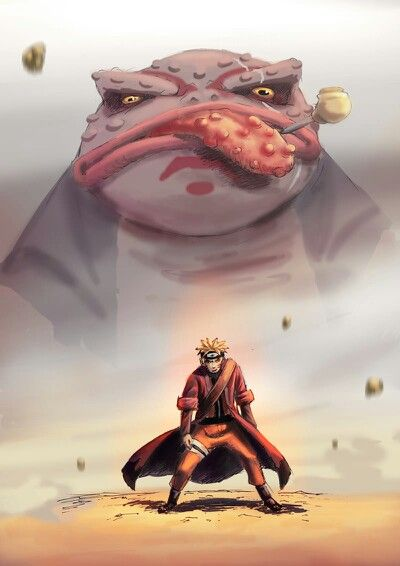 Naruto in Sage Mode. Absolutely love Naruto. It was actually my very first anime at the age of three or four. And I still love watching it.