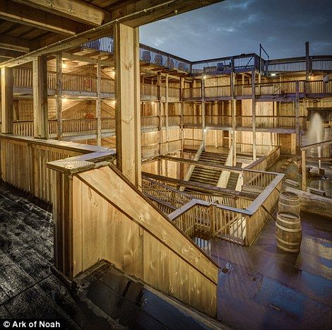 Noah's Ark replica is heading to Brazil for the Olympic games 2016 | Daily Mail Online