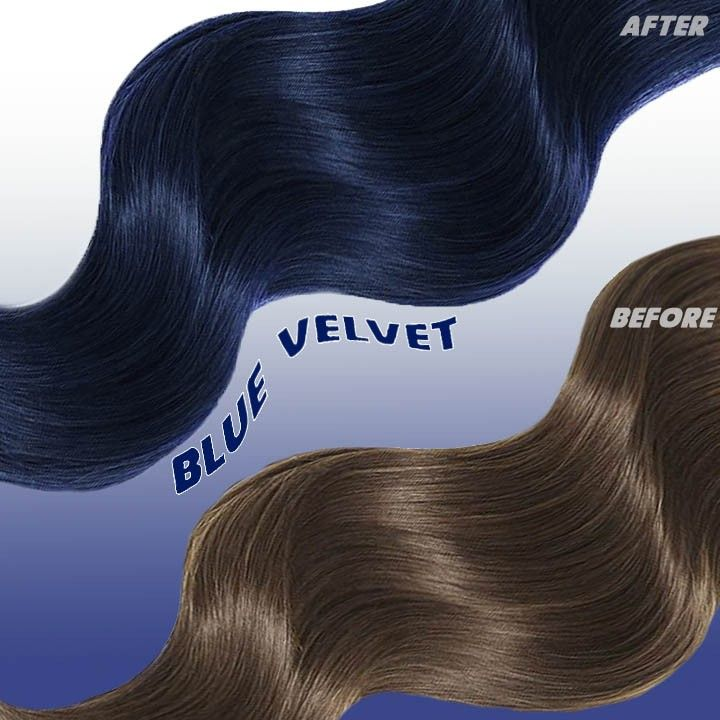Want A Deep Blue Tint Without Lightening Try Blue Velvet Our