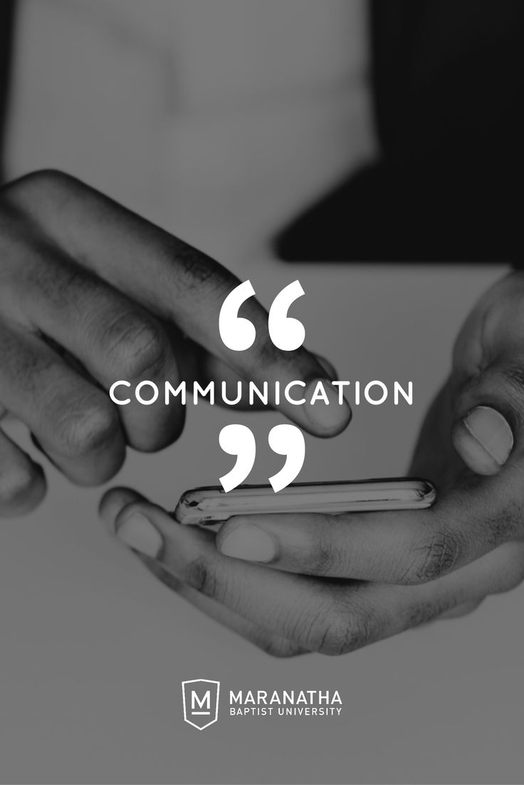 How you communicate and who you communicate to can be a big help in navigating your transition to college. Here are three quick areas to make sure you communicate well in!
