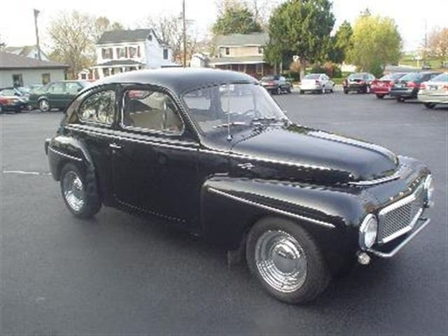1960 Volvo 544 Sedan, I paid $ 200 for the car, drove it all over Germany for 2 years and sold it $ 200.  Nickname - the Black Bomb
