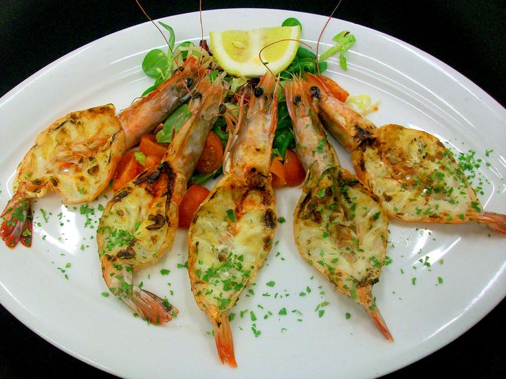 Gamberi grigliati -  Grilled Shrimp - Steak Restaurant