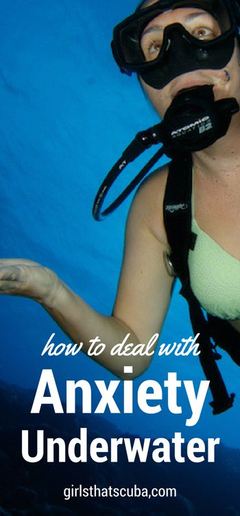 Anxiety in scuba diving, or in every day life, is a psychological state that can cause emotional and physical symptoms which can range from a quickened heartbeat to the paralyzing feelings of a panic attack. Recent evidence suggests that individuals who generally have higher levels of anxiety in their day-to-day life, are at an even higher risk of experiencing anxiety or panic underwater.