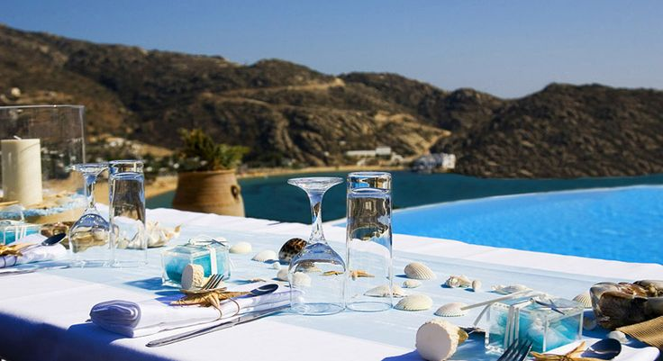 Enjoy your meal at Levantes Boutique Hotel - Ios by the pool... http://blog.levantes.gr/2013/05/by-pool.html
