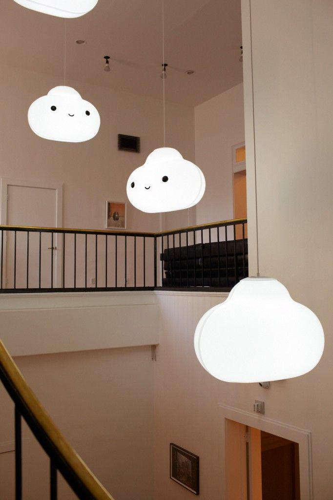 """""""Into the Clouds"""" Light Installation