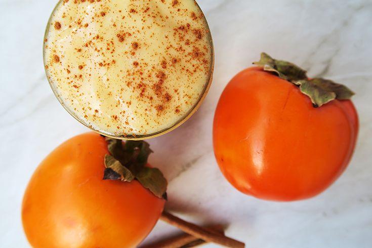 Warm Persimmon Smoothie