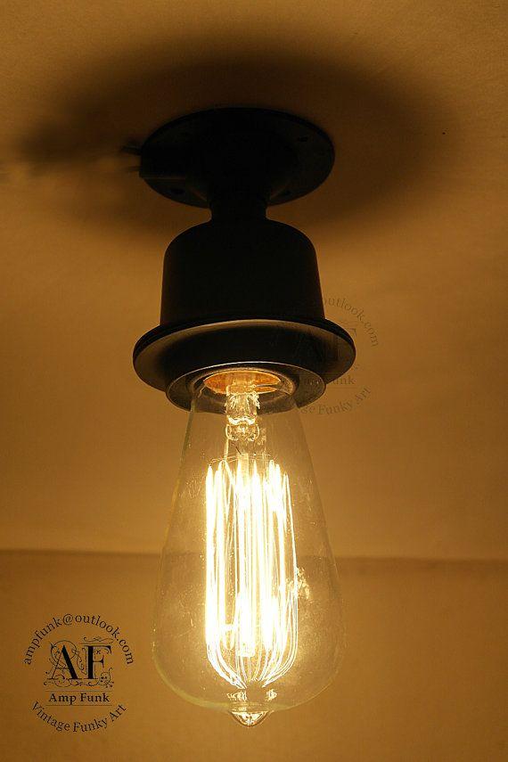 industrial bathroom lighting etsy. ceiling aluminium light industrial antique edison bulb, lamp, rustic lighting bathroom etsy n