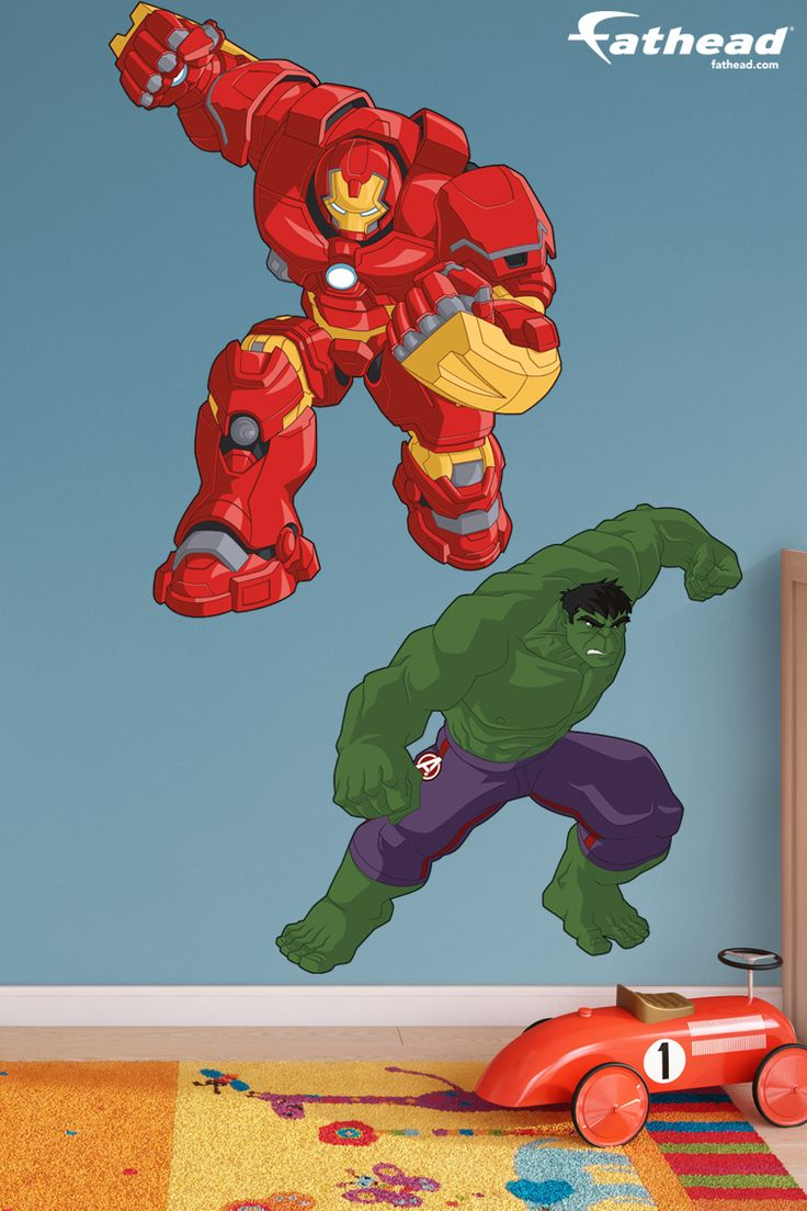 Hulk V Hulkbuster Cartoon Avengers Assemble Huge