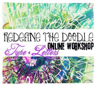 REDEFINE the Doodle online workshop series - doodles UNLEASHED