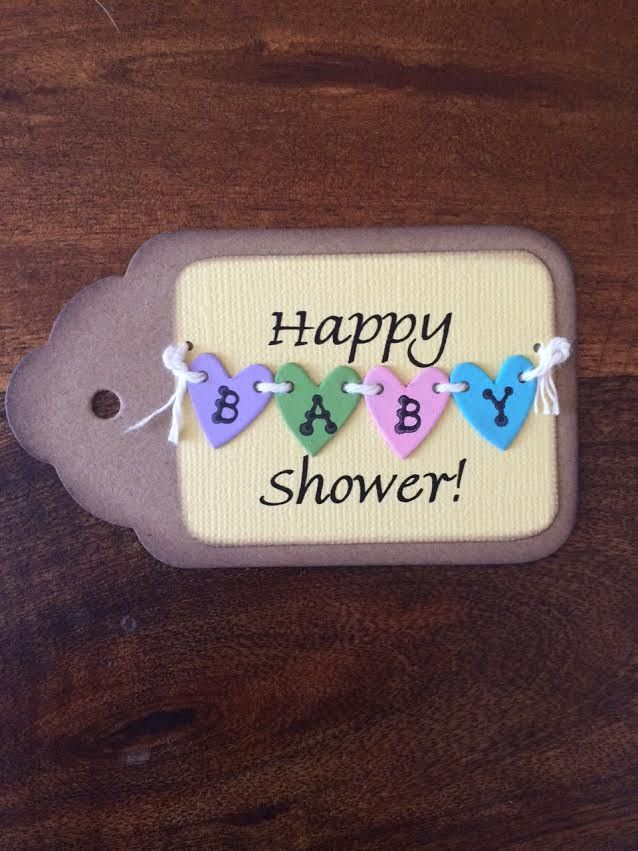 Tags - Happy Shower