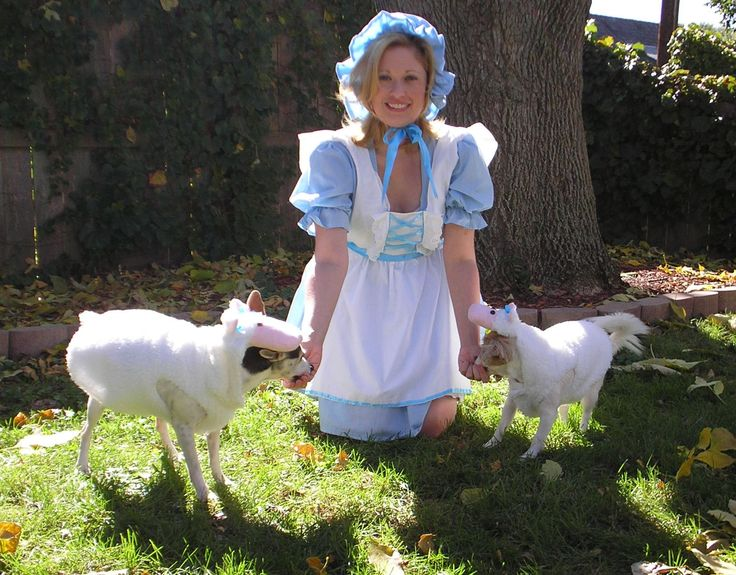 Little Bo Peep with her Sheep *Costumes by Heather Ingraham