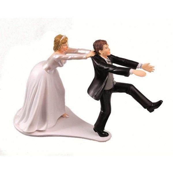 figurine mariage du couple de maris humoristique - Figurine Mariage Humoristique Pas Cher