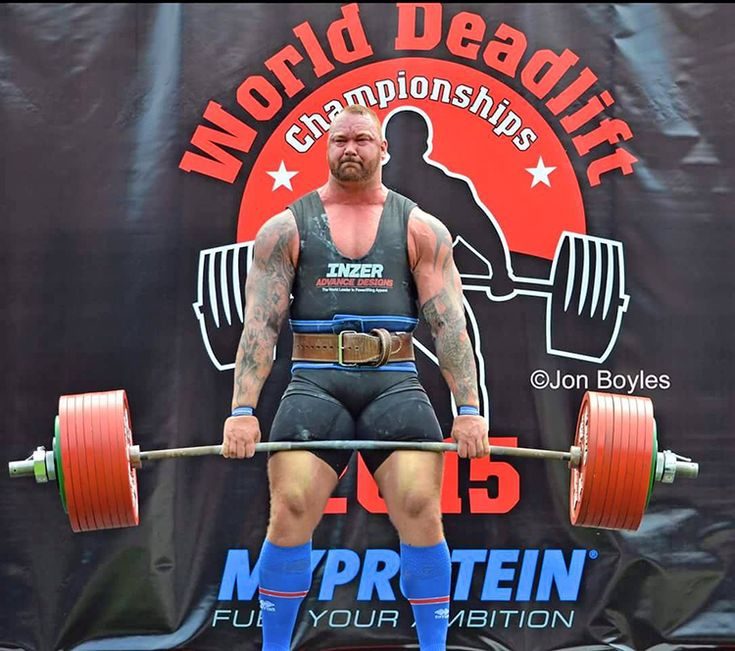 'Game of Thrones' Actor Hafthor Bjornsson Wins Europe's Strongest Man Contest for the Second Year in a Row