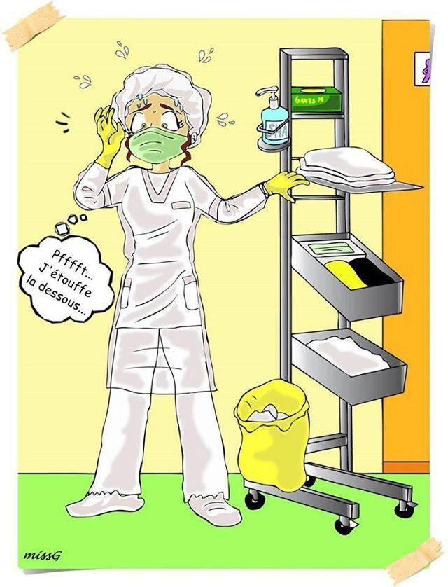 Ces 15 dessins décrivent beaucoup trop bien les infirmières !