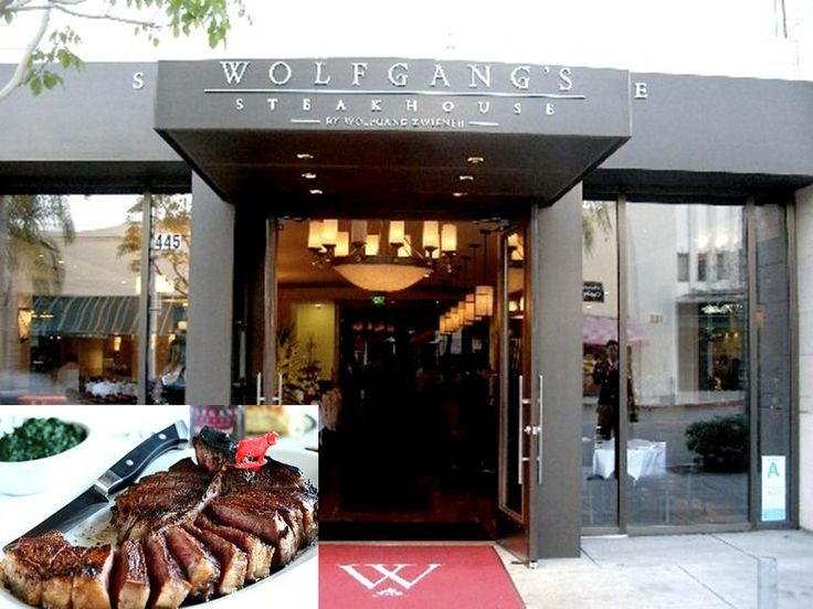 on it to make Wolfgang's Steakhouse exceptional. The porterhouse steak ...
