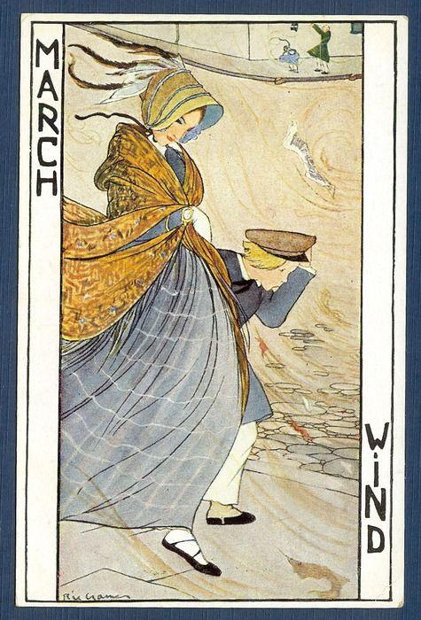 rie cra er | Rie Cramer - 12 maanden kaarten - (1930)