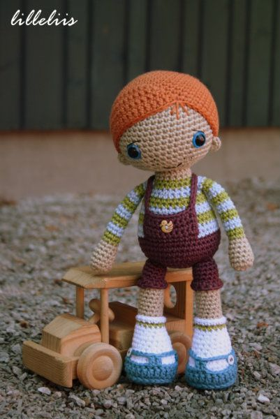 Rudy the Redhead – amigurumi boy doll pattern by lilleliis