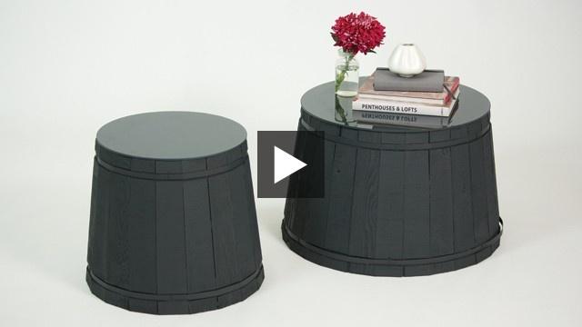 Easy DIY #SideTable | House & Home #BeautiTone Paint