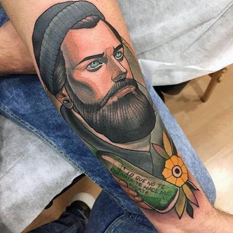 100 Neo Traditional Tattoo Designs for Men – Refined Ink Ideas - Tattoo Style Spanish Quotes Tattoos, Tattoo Style, Traditional Tattoo Design, Tattoo Apprentice, Classic Tattoo, Tattoo Designs For Women, Life Tattoos, Tattoo Studio, Sleeve Tattoos