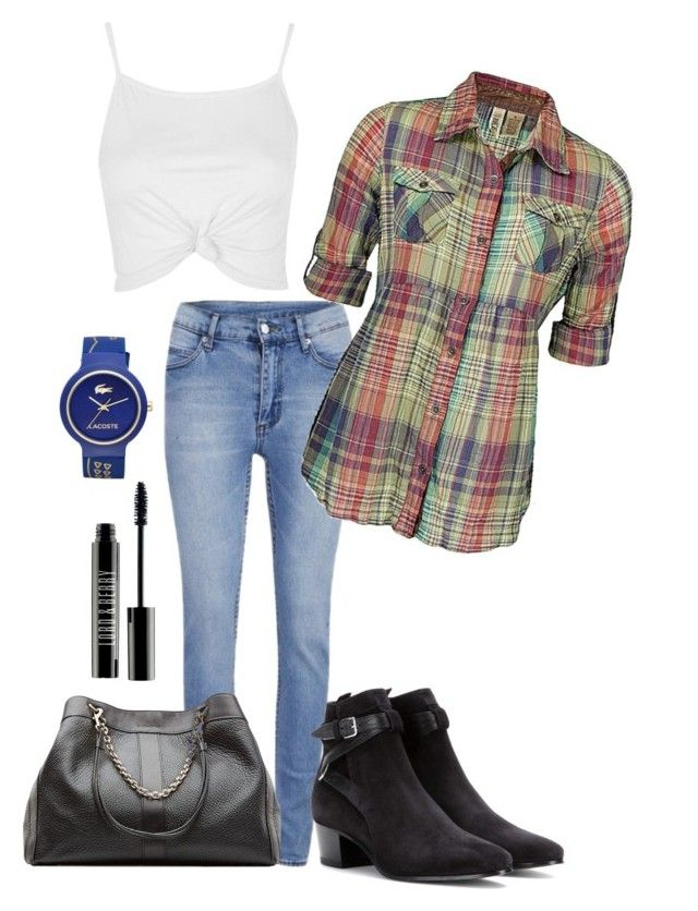 """""""Spring"""" by kdorisz on Polyvore featuring Cheap Monday, Lacoste, Yves Saint Laurent, See by Chloé, BKE, Topshop and Lord & Berry"""