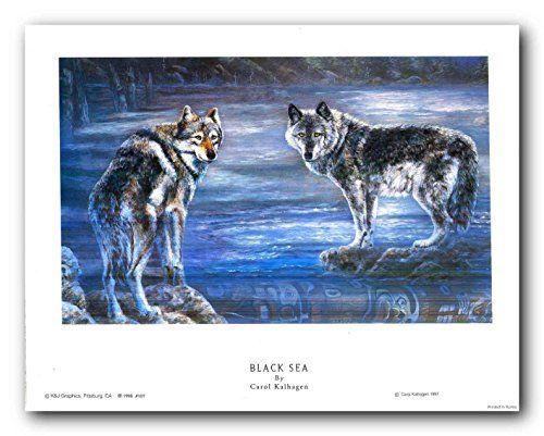Couple Wolf in Snow Mountain Wildlife Animal Wall Decor A... https://www.amazon.com/dp/B018I87SJ6/ref=cm_sw_r_pi_dp_x_.hH3yb6VCJVCF