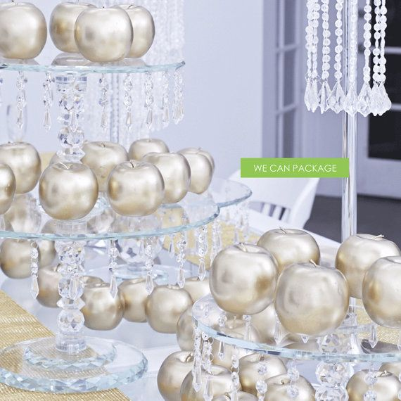 Gold Apple DIY Wedding Decoration Party Event Home by wecanpackage