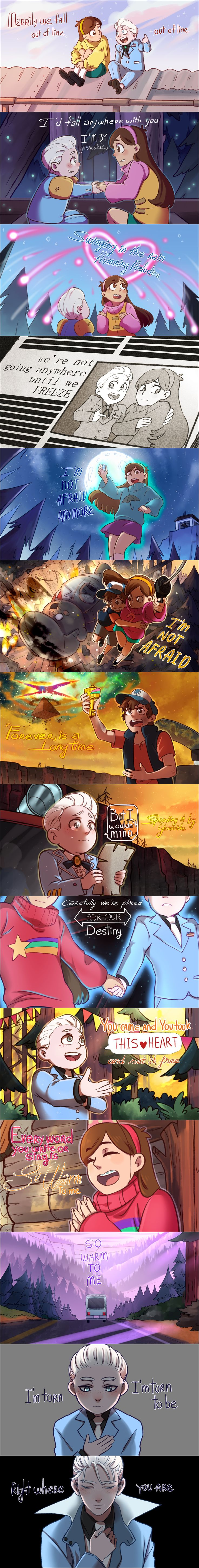 "Part 1 Gravity Falls ""I Wouldn't Mind"" by Tanosan96"