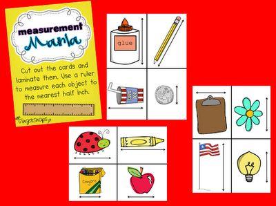 Measurement:  Internet Site, Practice Measuring, Classroom Math, Student Practice,  Website, Math Measuring, Teaching Ideas, Measuring Mania, Gingers Snap