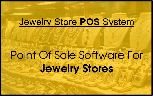 A complete & integrated #PointOfSale System for #JewelryStore.  #ePOS #JewelryPOS #Cashregister #iPadPOS