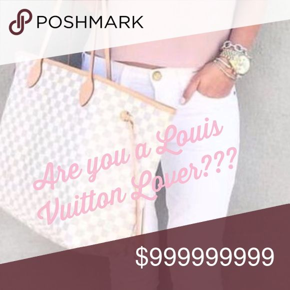 Like this post if you are you in love with LV? Like this post if you are in love with AUTHENTIC Louis Vuitton! Louis Vuitton Bags Shoulder Bags