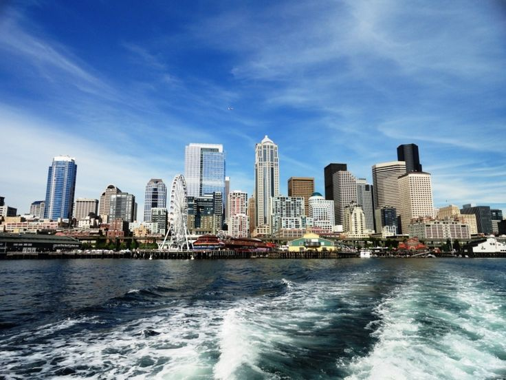 An afternoon on an Argosy cruise is the best way to get a stellar view of the waterfront. Always blown away by the beauty of this city....