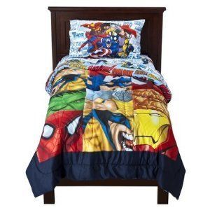 Marvel Heroes Twin Sheets By Marvel Fitted Sheet 39 X 75 60 Cotton 40