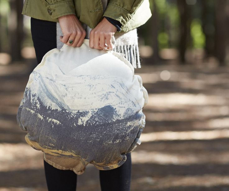 Pony Rider — Mountaineer Cushion | Round Cushions