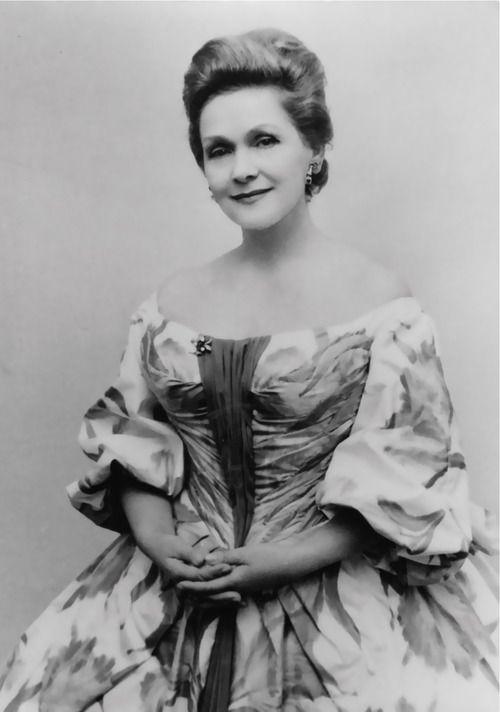 Elisabeth Schwarzkopf (9 December 1915 – 3 August 2006) was a famous German-born Austrian/British soprano opera singer and recitalist.