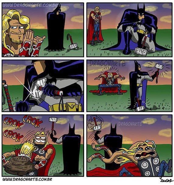 Batman for the win. XD